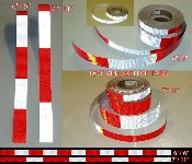 "*1"" and 2"" x 150' DOT Conspicuity Tape Rolls (V92) - $99.99"