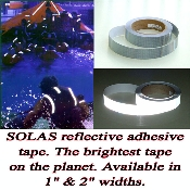 SOLAS 150' ROLLS Coast Guard Approved Reflective Tape